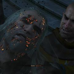 Гюнтер убивает Геральта