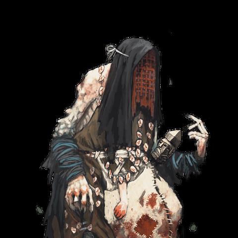 Концепт арт Шептухи в Ведьмак 3
