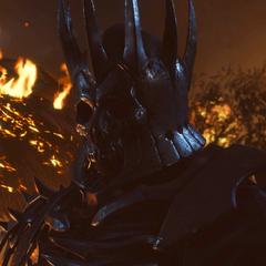 Эредин сжигает деревню Вересковка