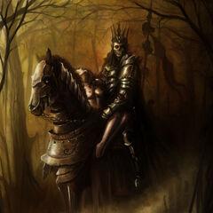 Король и Йеннифэр, рисунок <a rel=