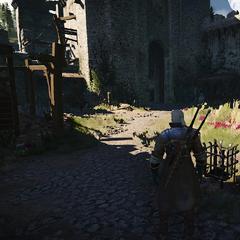 Нижний двор крепости