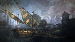 Корабль Синих Полосок 1В3