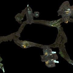 Модель катакомб