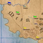 Мехт на карте