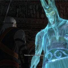 Король разговаривает с Геральтом