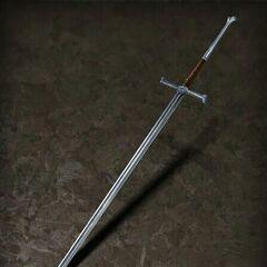 Стальной меч ведьмака