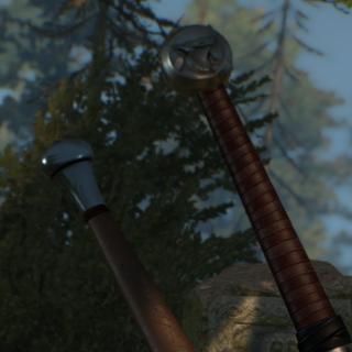 Рукоять меча Школы Кота