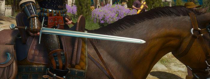 Улучшенный стальной меч Школы Кота В3