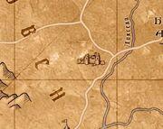 Шаэрраведд на карте
