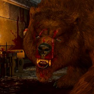 Вильдкаарл в форме медведя