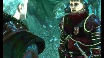 Зигфрид в игре Ведьмак 2