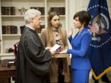 First inauguration of Selina Meyer