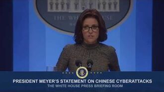 President Meyer's Statement on Chinese Cyberattacks