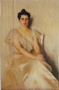Zorn-Motstaende side Mrs Frances Cleveland