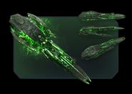 VEGA Conflict Alien Harvester