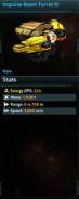 Impulse Beam Turret III