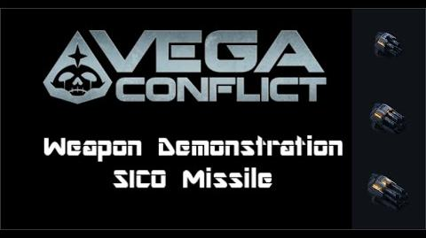 VEGA Conflict SICO Missile Weapon Demonstration