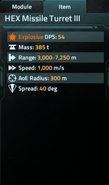 HEX Missile Turret III