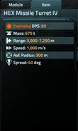HEX Missile Turret IV