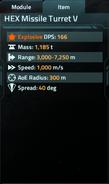 HEX Missile Turret V