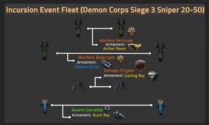 Demon Corps Siege 3 Sniper 20-50