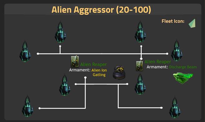 Alien Aggressor (20-100)