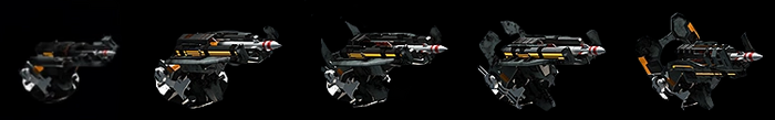 Scatter Missile Weapons