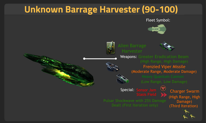 Unknown Barrage Harvester 90-100
