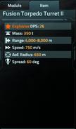 Fusion Torpedo Turret II