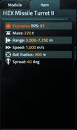 HEX Missile Turret II