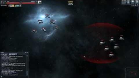 VEGA Conflict - Cargo lvl 35 VS. Rancor Battleship Auto Fight