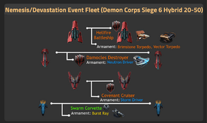 Demon Corps Siege 6 Hybrid 20-50 updated