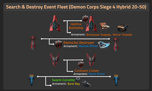 Demon Corps Siege 4 Hybrid 20-50