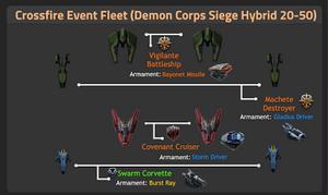 Demon Corps Siege Hybrid 20-50