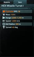 HEX Missile Turret I