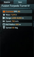 Fusion Torpedo Turret IV