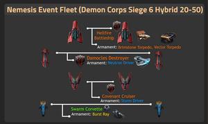 Demon Corps Siege 6 Hybrid 20-50