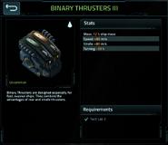 Binary thrusters 3