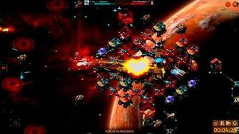Manticore Battlecruiser Base Attack Test