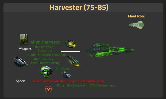 Harvester 75-85