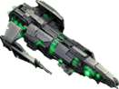 VEGA Conflict Exterminator Destroyer angle