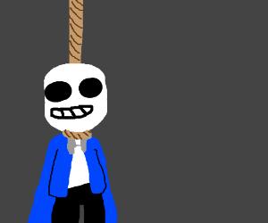 Hanging sans