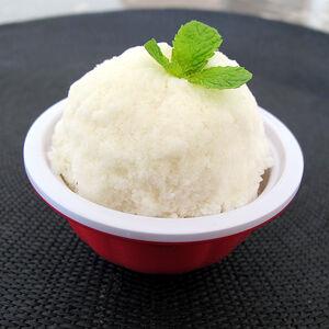 Coconut lime sorbet