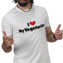 Tshirt - heart my veg