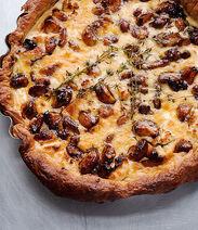 Caramelised Garlic Tart