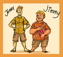 VT Human Jimmy And Jerry