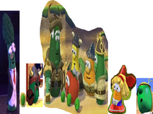 VeggieTales Lyle and the Olaf Mr. Nezzer