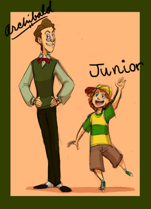 VT Human Archiblad And Junior