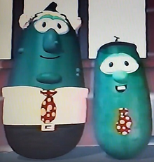 4 Mr. Nezzer Benny Larry the Cucumber