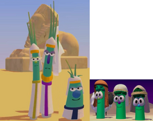 The Phapon Scallions & Sheep And The Three Brother Asparagus Model